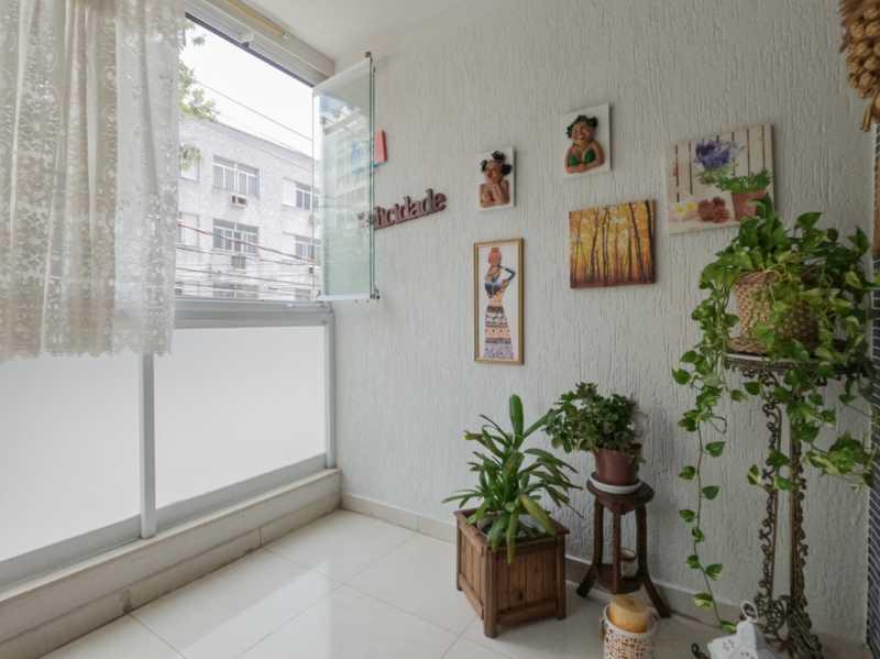 Varanda 4 - Casa Triplex Geminada com 130m² na Rua Jose Silva, Pechincha - RECA30006 - 23