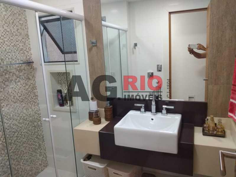 BANHEIRO SOCIAL. - Cobertura 4 quartos à venda Rio de Janeiro,RJ - R$ 1.490.000 - AGV60789 - 10