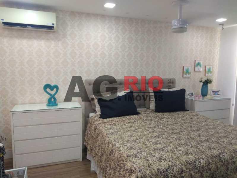 QUARTO SUÍTE MASTER. - Cobertura 4 quartos à venda Rio de Janeiro,RJ - R$ 1.490.000 - AGV60789 - 11