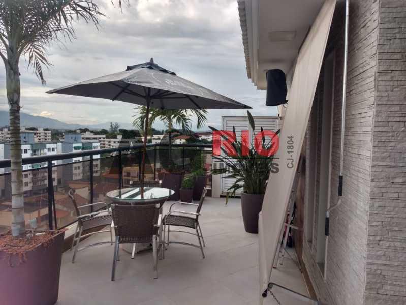 TERRAÇO. - Cobertura 4 quartos à venda Rio de Janeiro,RJ - R$ 1.490.000 - AGV60789 - 20
