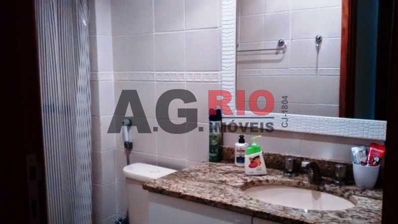 banheiro social - Apartamento À Venda - Rio de Janeiro - RJ - Praça Seca - AGV22065 - 13