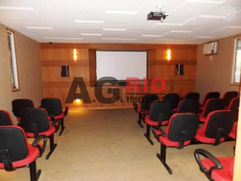 home cinema - Apartamento À Venda - Rio de Janeiro - RJ - Praça Seca - AGV22065 - 3
