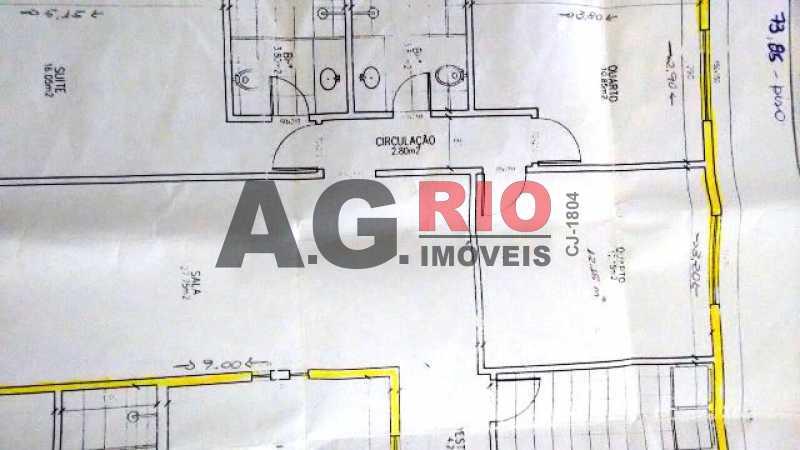 6b46c83af27e47a83a01c880200886 - Apartamento À Venda no Condomínio Nova Valqueire - Rio de Janeiro - RJ - Vila Valqueire - AGV30821 - 25