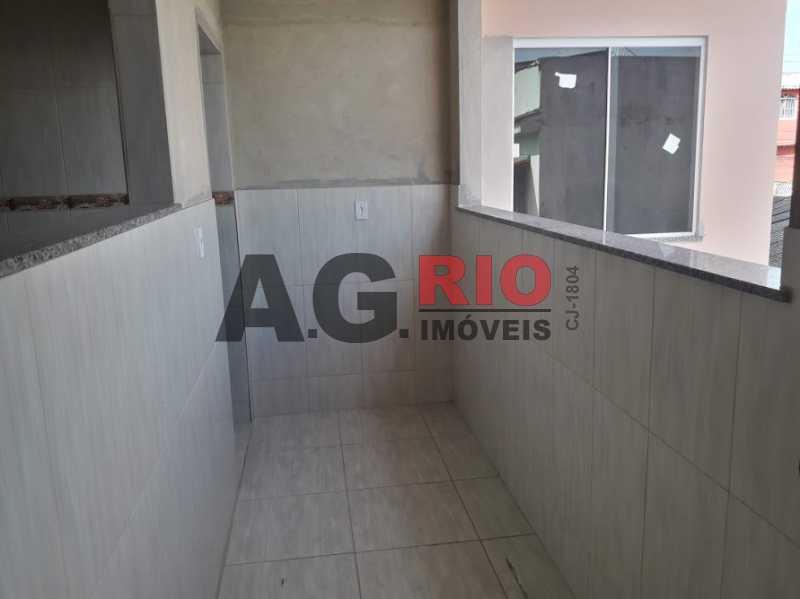 6.área - Apartamento 2 quartos à venda Rio de Janeiro,RJ - R$ 295.000 - AGV22190 - 6