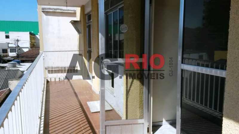 VARANDA - Apartamento 2 quartos à venda Rio de Janeiro,RJ - R$ 299.000 - AGV22245 - 1