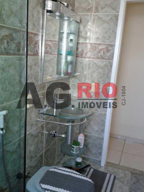 BANHEIRO 1 - Apartamento Rio de Janeiro, Realengo, RJ À Venda, 2 Quartos, 54m² - AGV22415 - 7
