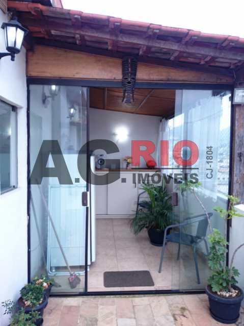 DSC_1320 - Cobertura À Venda - Rio de Janeiro - RJ - Praça Seca - AGV60838 - 16