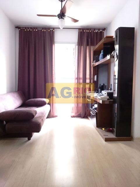 FOTO3 - Apartamento Rio de Janeiro,Campinho,RJ À Venda,2 Quartos,46m² - AGV22461 - 4