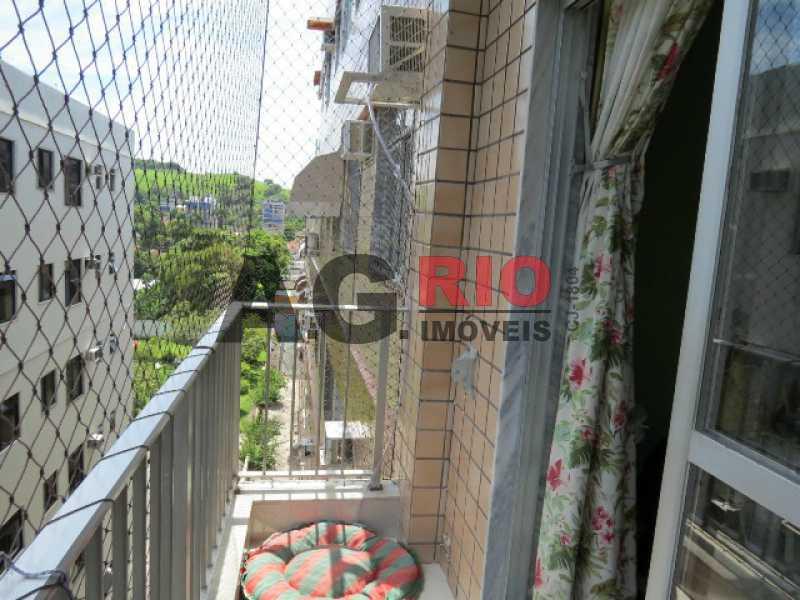 5_VARANDA_1 - Apartamento À Venda - Rio de Janeiro - RJ - Praça Seca - AGV22591 - 6