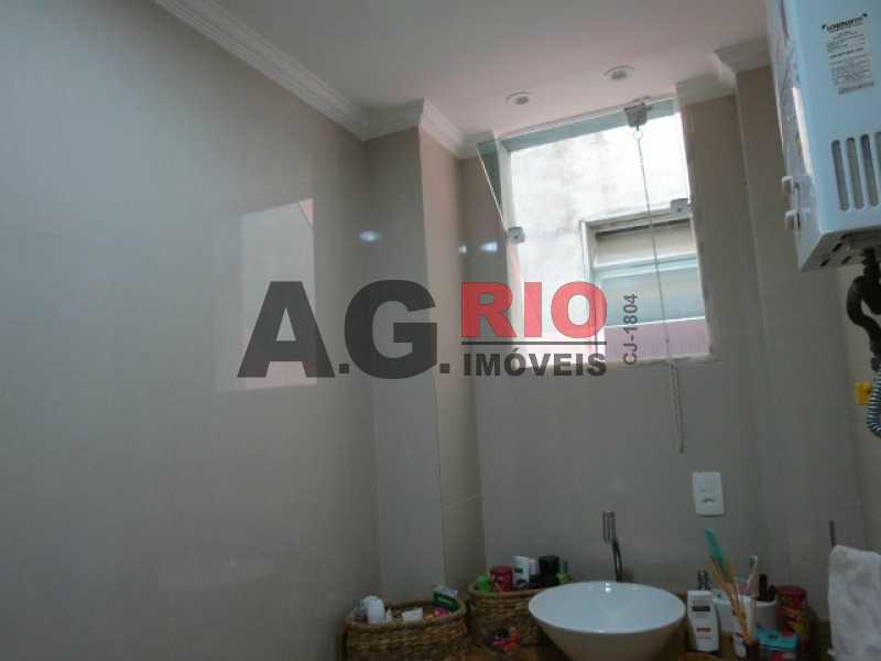 8_BANHEIRO_1 - Apartamento À Venda - Rio de Janeiro - RJ - Praça Seca - AGV22591 - 9