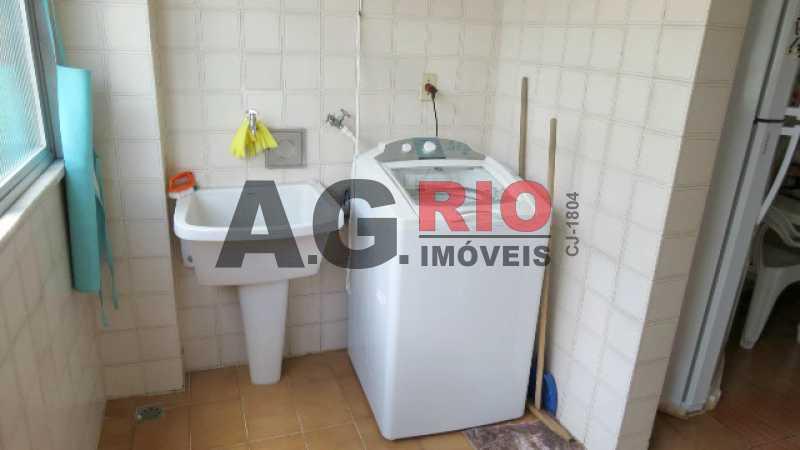 12_AREA_1 - Apartamento À Venda - Rio de Janeiro - RJ - Praça Seca - AGV22591 - 20