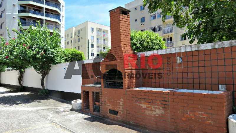 AREA EXTERNA_CHURRASQUEIRA - Apartamento À Venda - Rio de Janeiro - RJ - Praça Seca - AGV22591 - 31