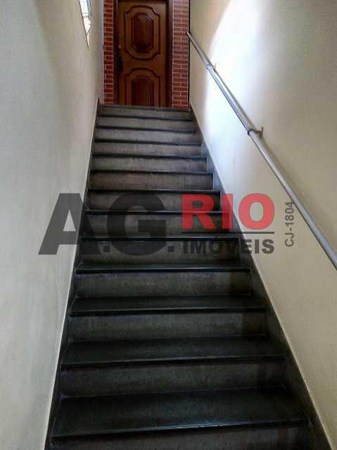 05 - Escada de acesso ao 2o    - Apartamento À Venda - Rio de Janeiro - RJ - Campinho - AGV22822 - 6