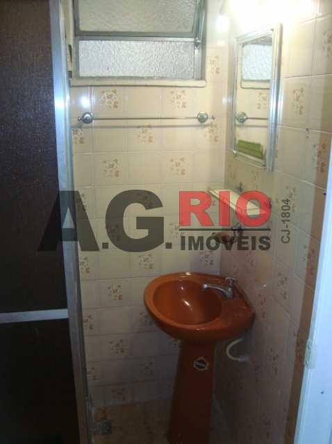 18 - Banheiro vis_o 1 - Apartamento À Venda - Rio de Janeiro - RJ - Campinho - AGV22822 - 19