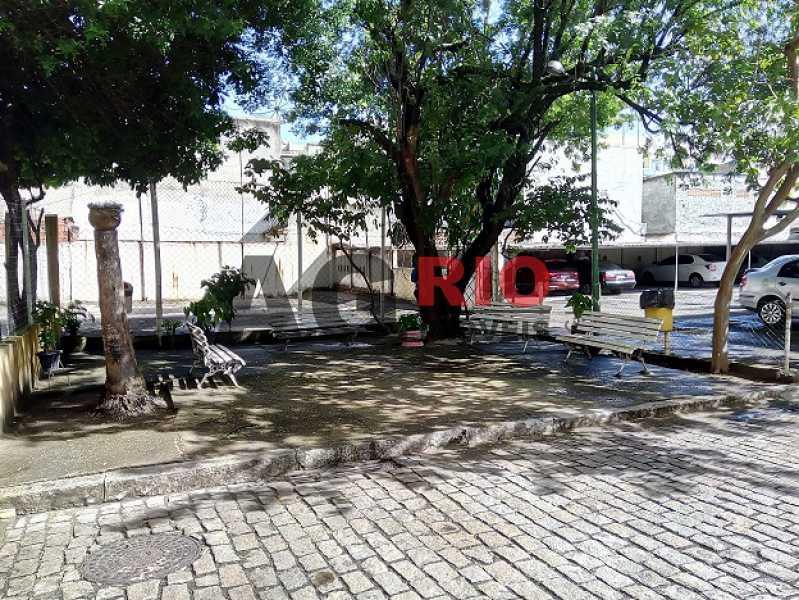 26 - Lazer, quadra ao fundo e  - Apartamento À Venda - Rio de Janeiro - RJ - Campinho - AGV22822 - 26