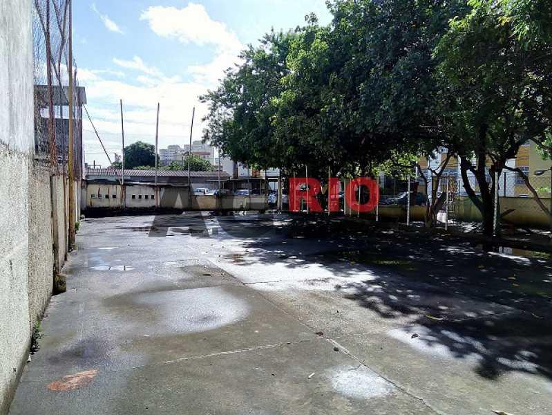 28 - Vis_o da quadra para o es - Apartamento À Venda - Rio de Janeiro - RJ - Campinho - AGV22822 - 27