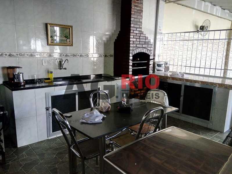 31 - Cozinha e Churrasqueira d - Apartamento À Venda - Rio de Janeiro - RJ - Campinho - AGV22822 - 29