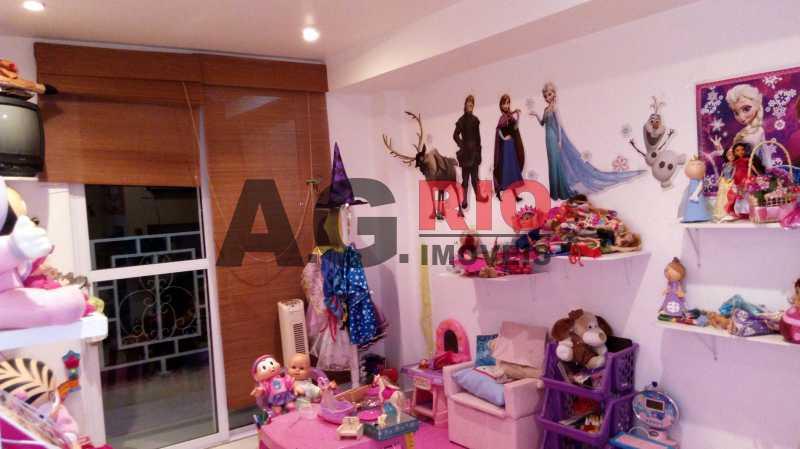 qt fundos com varanda - Casa 4 quartos à venda Rio de Janeiro,RJ - R$ 579.000 - AGF71340 - 12