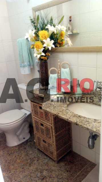 lavabo - Casa 4 quartos à venda Rio de Janeiro,RJ - R$ 579.000 - AGF71340 - 16
