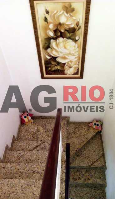 escada - Casa 4 quartos à venda Rio de Janeiro,RJ - R$ 579.000 - AGF71340 - 23