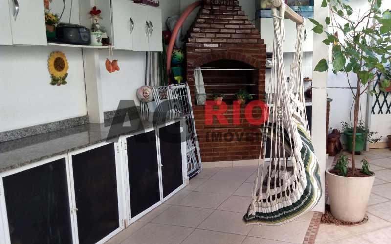 churrasqueira - Casa 4 quartos à venda Rio de Janeiro,RJ - R$ 579.000 - AGF71340 - 26