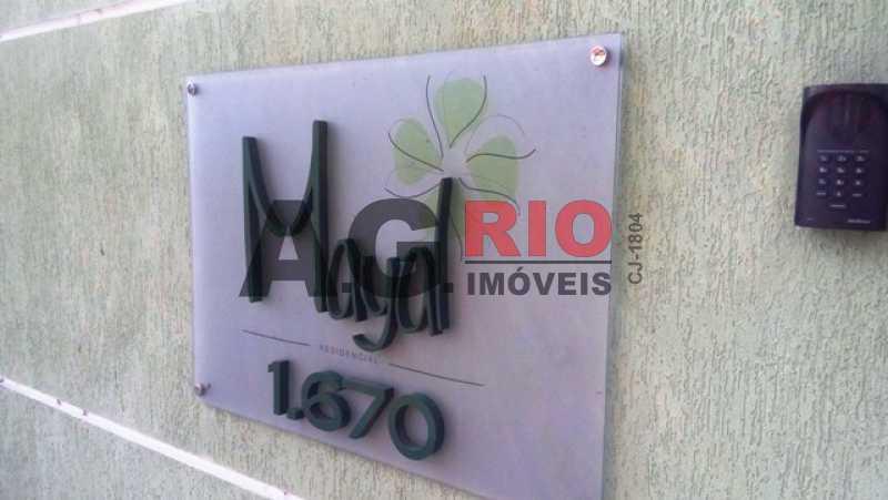 FACHADA - Apartamento À Venda - Rio de Janeiro - RJ - Jardim Sulacap - AGV22930 - 1