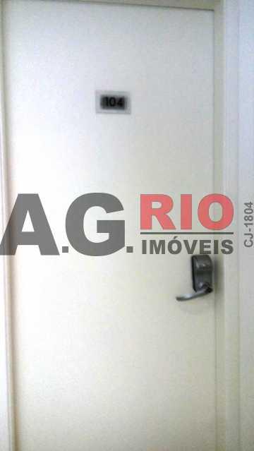 ENTRADA - Apartamento À Venda - Rio de Janeiro - RJ - Jardim Sulacap - AGV22930 - 3