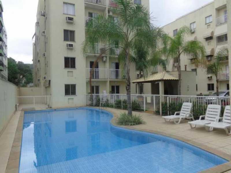 _piscina2 - Apartamento Rio de Janeiro,Praça Seca,RJ À Venda,2 Quartos,50m² - AGV22940 - 1