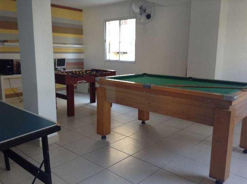 _sala de jogos1 - Apartamento Rio de Janeiro,Praça Seca,RJ À Venda,2 Quartos,50m² - AGV22940 - 25