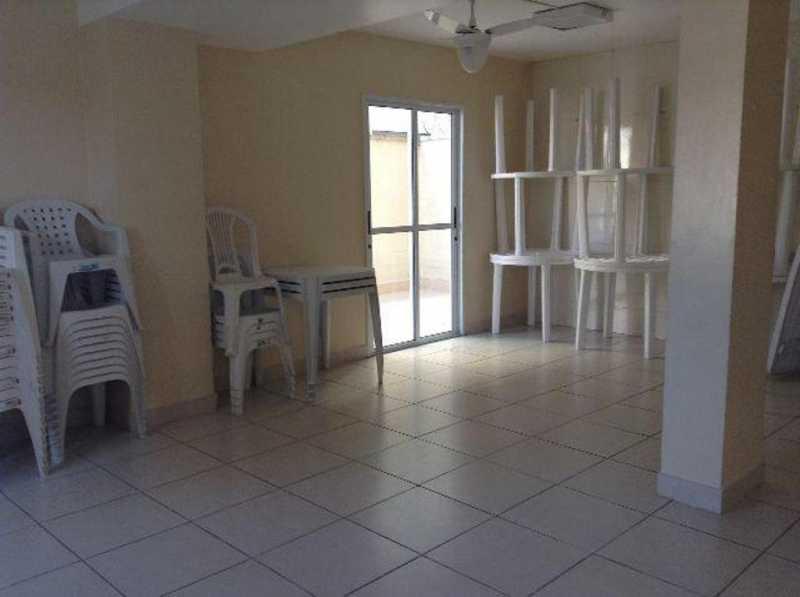 _salão de festas - Apartamento Rio de Janeiro,Praça Seca,RJ À Venda,2 Quartos,50m² - AGV22940 - 20