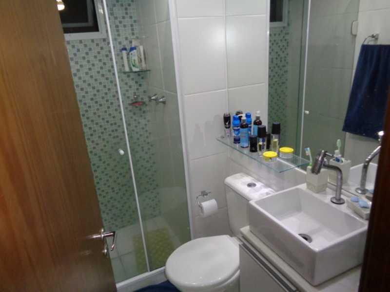 banheiro1 - Apartamento Rio de Janeiro,Praça Seca,RJ À Venda,2 Quartos,50m² - AGV22940 - 9