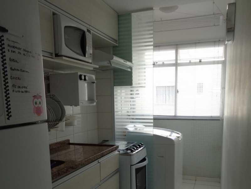 cozinha 1 - Apartamento Rio de Janeiro,Praça Seca,RJ À Venda,2 Quartos,50m² - AGV22940 - 18