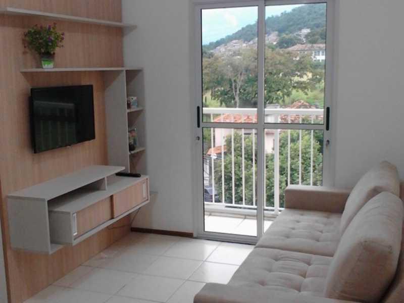 sala 1 - Apartamento Rio de Janeiro,Praça Seca,RJ À Venda,2 Quartos,50m² - AGV22940 - 5
