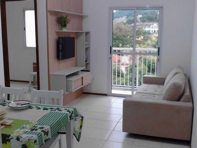 sala 2 - Apartamento Rio de Janeiro,Praça Seca,RJ À Venda,2 Quartos,50m² - AGV22940 - 6