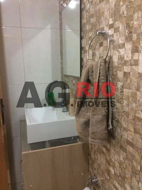 banheiro 1 - Apartamento 2 quartos à venda Rio de Janeiro,RJ - R$ 275.000 - AGV22961 - 16