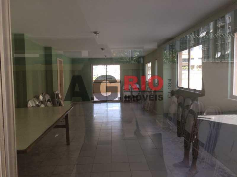 salão de festa - Apartamento 2 quartos à venda Rio de Janeiro,RJ - R$ 275.000 - AGV22961 - 25