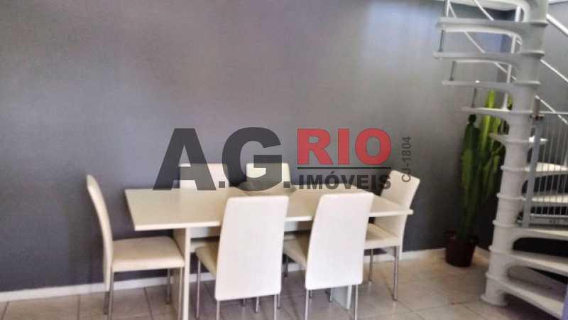 SALA 3 - Apartamento À Venda - Rio de Janeiro - RJ - Vila Valqueire - AGV60885 - 5
