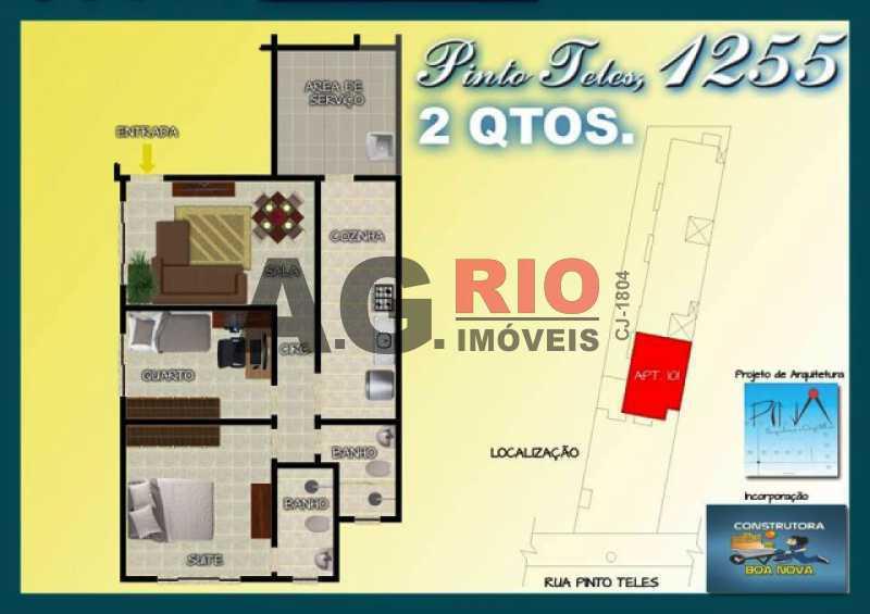 Cópia de Cópia de WhatsApp I - Apartamento À Venda - Rio de Janeiro - RJ - Praça Seca - AGL00232 - 24