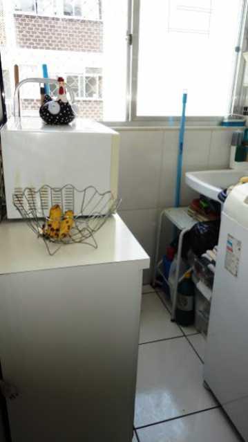 _rea de Servi_o - Apartamento À Venda - Rio de Janeiro - RJ - Praça Seca - AGV22995 - 7