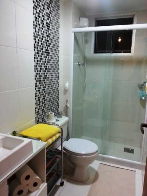 Banheiro_Vista1 - Apartamento À Venda - Rio de Janeiro - RJ - Praça Seca - AGV22995 - 8