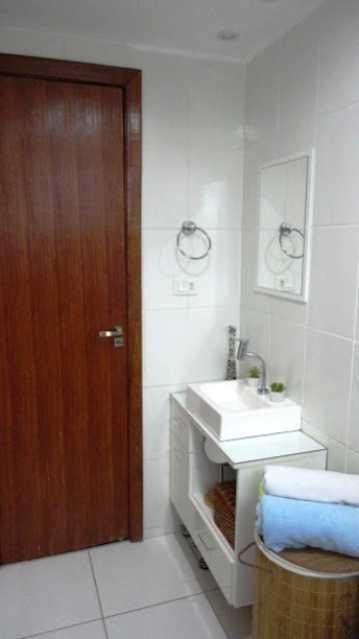 Banheiro_Vista2 - Apartamento À Venda - Rio de Janeiro - RJ - Praça Seca - AGV22995 - 9