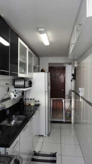 Cozinha_Vista2 - Apartamento À Venda - Rio de Janeiro - RJ - Praça Seca - AGV22995 - 12