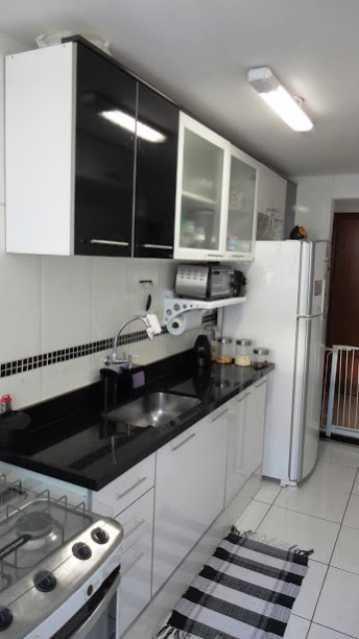 Cozinha_Vista3 - Apartamento À Venda - Rio de Janeiro - RJ - Praça Seca - AGV22995 - 13