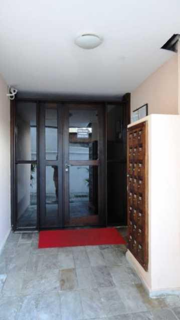 Entrada do Edif_cio - Apartamento À Venda - Rio de Janeiro - RJ - Praça Seca - AGV22995 - 14