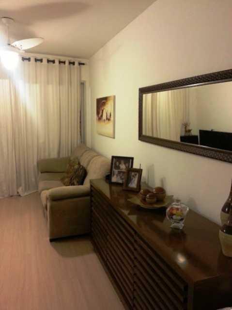 Sala_Vista1 - Apartamento À Venda - Rio de Janeiro - RJ - Praça Seca - AGV22995 - 5
