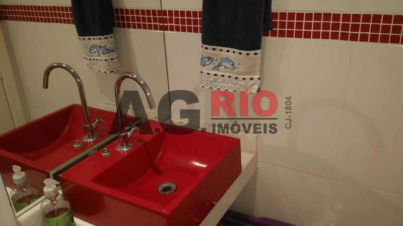 Banheiro Terraço - Casa À Venda - Rio de Janeiro - RJ - Taquara - AGT73591 - 14