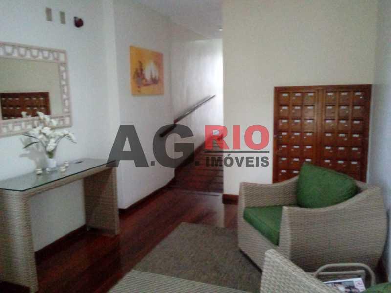 Hall do predio - Cobertura À Venda Avenida Geremário Dantas,Rio de Janeiro,RJ - R$ 460.000 - AGF60179 - 28