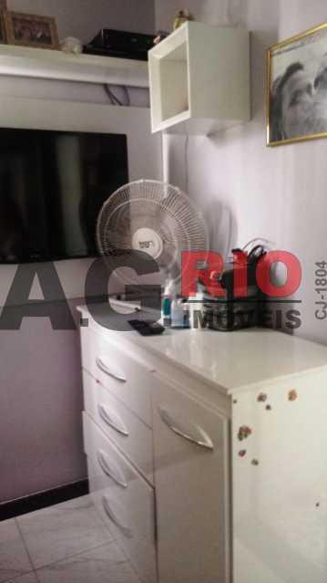 QUARTO 1 - Cobertura 2 quartos à venda Rio de Janeiro,RJ - R$ 430.000 - AGV60890 - 9
