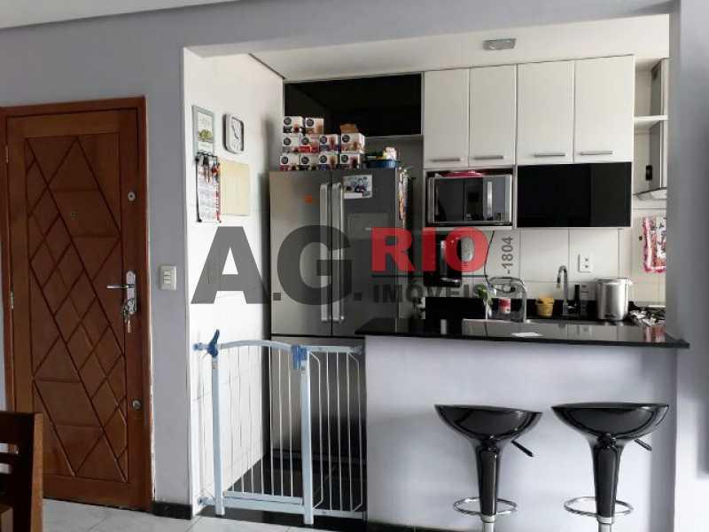 COZINHA 2 - Cobertura 2 quartos à venda Rio de Janeiro,RJ - R$ 430.000 - AGV60890 - 15