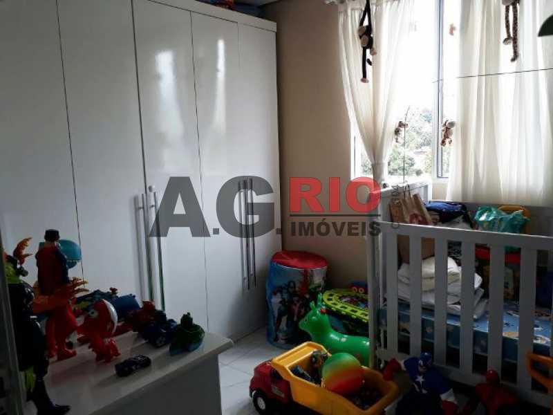 QUARTO  - Cobertura 2 quartos à venda Rio de Janeiro,RJ - R$ 430.000 - AGV60890 - 8